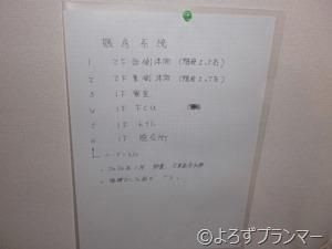 配管系統リスト 行先表示