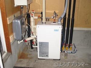 コロナ エコフィール暖房ボイラー UHB-EG120C 膨張タンク